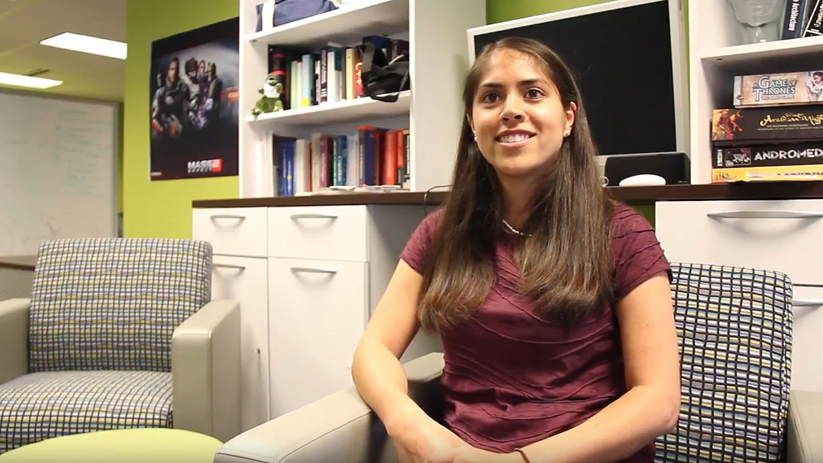 Ph.D. student Veronica Catete shares her passion for computer science.